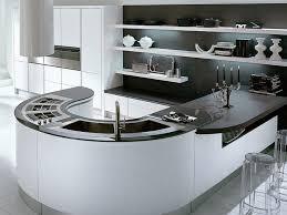 modern curved kitchen island. Kitchen:Curved Kitchen Island And 36 Luxury Modern Curved Cool Black White A