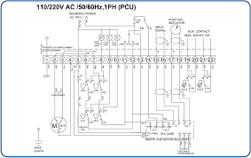 htq electric actuator wiring diagram 110 220vac 50 60hz 1ph on off