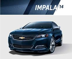 GM 2014 Chevrolet Impala Sales Brochure