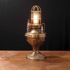 steampunk lighting. Antique Steampunk Lamps Lighting