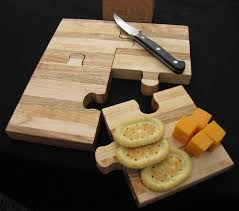 Items similar to Puzzle personalized cutting board cutting boards wood best cutting  board wooden cutting board cutting board personalized engraved gifts on ...