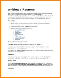 Resume Template Appealing Interests Resume Examples Best Ofple