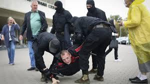 Terrorizmus vádjával nyomoz a fehérorosz főügyészség 2021. Feheroroszorszag Megkezdtek A Tiltakozok Orizetbe Vetelet Az Ujabb Tomegtuntetesen Infostart Hu