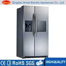 refrigerator with icemaker and water dispenser. Fine Refrigerator Side Double Door Refrigerator With Icemaker And Water Dispenser Ce   Buy RefrigeratorSide  To Icemaker C