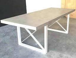 concrete table top for round concrete table dining table unique room sets glass top extremely
