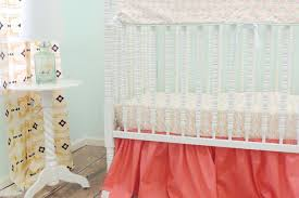 aztec baby bedding c peach crib bedding