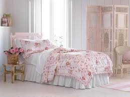 Shabby Chic Bedrooms Shabby Chic Bedroom With Ruffle Bedding Shabby Chic Bedroom