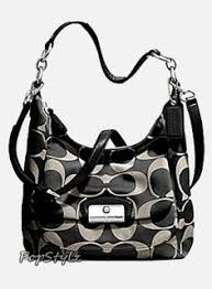 Coach Kristin Signature Hobo - Cross Body - Bags and Purses
