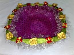 Indian Wedding Tray Decoration How to Make Decorative Trays for Wedding DIY real 87
