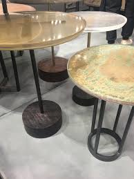 Latest trends in furniture Modern View Larger Image Nicola Manning Design Interior Design Blog Colour Trends 2017 Icff New York Mixed Surface Tables Nicola Manning Design The Latest Trends In Finishes And Textures For 2017 From New York