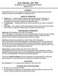 Nurse Resume Examples New Resume Rn Pleasing Dedicated Rn Resume Sample