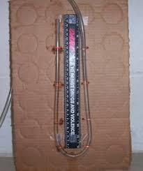water manometer. water manometer m