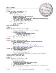 intercultural communication syllabus esl s 3