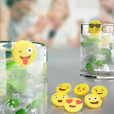 <b>Маркеры для бокалов Emoji</b> 8шт. | www.gt-a.ru