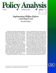 reform essay welfare reform essay