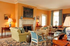 Yellow Living Room Set Orange Paint Colors For Living Room Orange Turquoise Colors