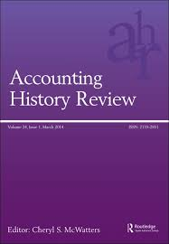 Accounting History Review Conference Call For Papers Explore