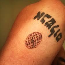Duff Goldman On Twitter Im A Man Of My Word Waffle Tattoo