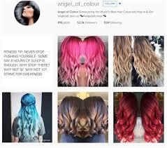 the top hair salon insram accounts