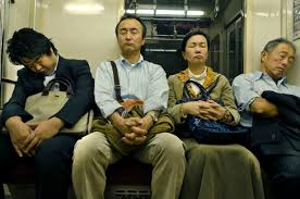 office naps. Passengers Doze On A Tokyo Subway Train In October 2012. | ISTOCK Office Naps