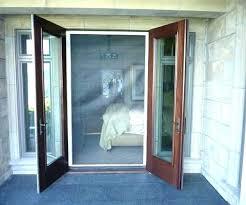 retractable patio screen door remarkable for nch doors with screens installing genius pella rolscreen patio screen door g50 door
