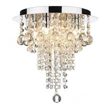 ruby modern chandelier style light for low ceilings
