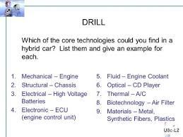 9 Core Technologies Technology Education The 9 Core Technologies Ppt Download