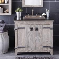 Driftwood Bathroom Accessories Americana Rustic Bathroom Vanity Cabinets Driftwood Native Trails