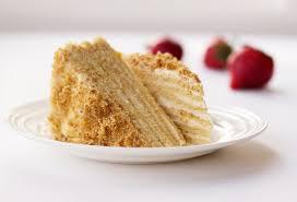 Russian Layered Honey Cake