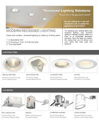 Decorative Rings For Recessed Lighting Modern Recessed Lighting