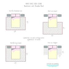 rug size under king bed area rugs size guide bedroom rug placement images pictures king bed