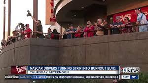 NASCAR drivers to transform Las Vegas Strip into 'Burnout Blvd ...