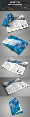 Architecture Brochure Template Architecture Trifold Brochure By OrcShape GraphicRiver 15