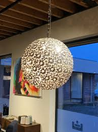 Moderne Kristal Lamp Rond Bol 62 Cm Dé Kroonluchterwinkel Voor