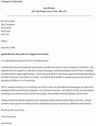 Help Desk Technician Cover Letter | The Letter Sample