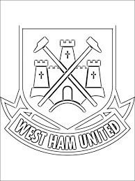 Coloring Pages Soccer Teams Soccer Or Football Clubs S Emblems