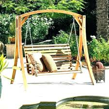 swinging porch beds outdoor bed swing round hanging plans