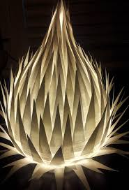paper lighting. white paper table lamp by melscreativedesigns on etsy 4000 lighting