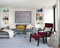 Modern Living Room Rug Living Room Awesome Modern Living Room Rug Ideas With Red Shag
