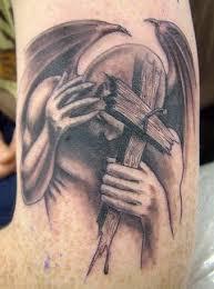 3d Motiv Tetování 4 Na Ruku Vzor Démon