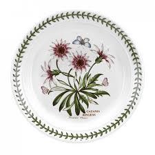 "<b>Тарелка закусочная</b> Portmeirion ""Ботанический сад.<b>Газания</b>"" 20см"