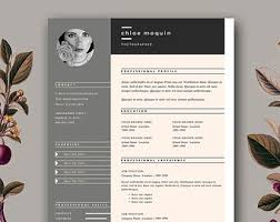 free resume template design modern resume template cover letter template for word and