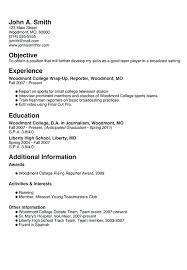 How To Make A Good High School Resume Megakravmaga Com