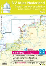 Nv Charts App Nv Atlas Nl5 Ooster En Westerschelde