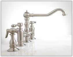 Bridge Kitchen Faucets With Side Spray