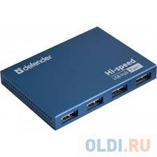 Концентратор <b>USB</b> 2.0 <b>Defender</b> SEPTIMA SLIM — купить по ...