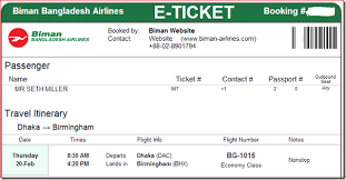 Ticket To Bangladesh United Airlines And Travelling