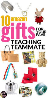 looking for the perfect gift for your favorite elementary teacher or teaching teammate check out