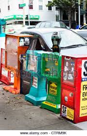 Vending Machines San Francisco Inspiration Newspaper Vending Machines Stock Photo 48 Alamy