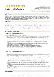 sample public relations resume director of public relations resume samples qwikresume